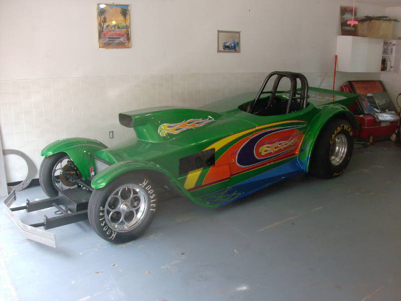 Gasser Madness ~ Visitors' Rides ~ Mike Traul's cars